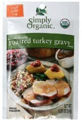 Simply Organic in bulk Roasted turkey gravy