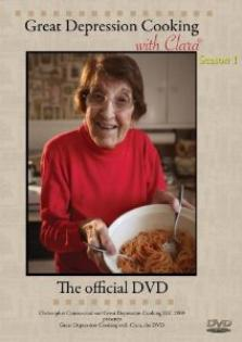 Great Depression cooking  with Clara - DVD