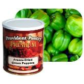 Green Bell Peppers by Provident Pantry