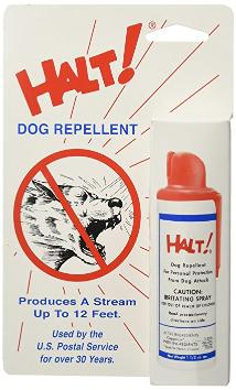 HALT dog spray