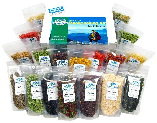 Harmony House sampler (backpacking kit)