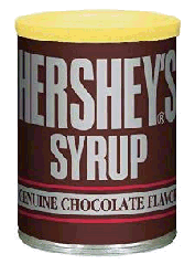 Hershyes chocolate syrup