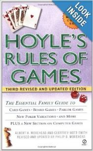 Hoyles rules for card games