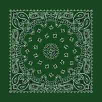 hunter green bandanna