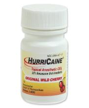 Dental pain relief: hurricaine topical anesthesic gel