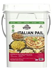 Augason Farms Italian Sytel Emergency Food Bucket