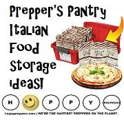 Prepper's Pantry Italian Food Storage Ideas
