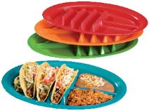 Mexican food tray