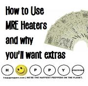 How to use MRE heaters and why you'll want extras
