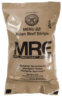 MRE sample