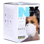 Cordova N-95 Respirators provide a measure of protection against Ebola