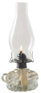 Off-grid lighting: oil lamps