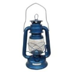 blue oil lamp