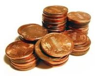 Weird stuff to hoard: Pennies!