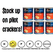 Stock up on pilot crackers