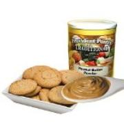 Provident pantry peanut butter powder