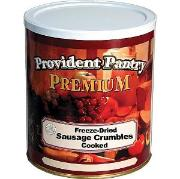 Provident Pantry Freeze dried sausage crumbles