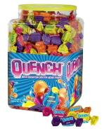 Quench chewing gum bulk