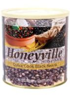 Honeville quick cook black beans in #10 can