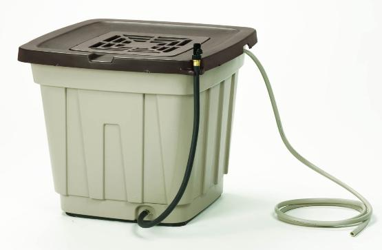 Inexpensive Rainwater barrel