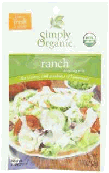 Simply organic ranch mix