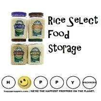 Rice select food storage