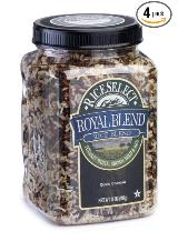 rice food storage Royal blend rice, rye four pack