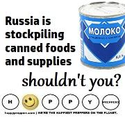 Russia is stockpiling food, shouldn't you?