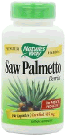 Saw palmetto Herbal supplements