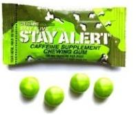Stay alert chewing gum
