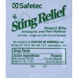 Insect Sting Relief refill packets