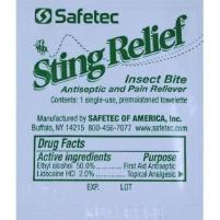 Safetec Insect bite Sting Relief - pack of 48