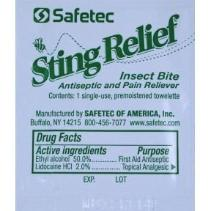 Bee sting relief