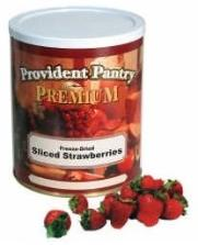 Freeze dried strawberries from Provident Pantry