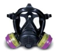 Survivair - medium  gas mask