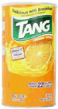 Tang orange drink mis