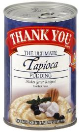 tapioca pudding in a can