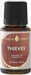 Thieves oil: legend has it that it kept thieves free from disease during the Plague