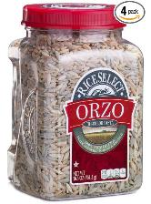rice food storage - orzo