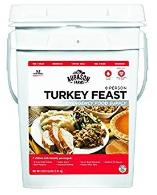 Turkey feast bucket