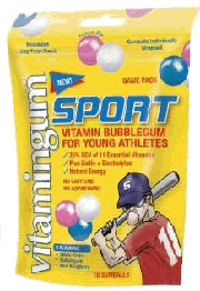 Sport gum for survival