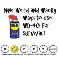 Nine Weird and wacky ways to use WD-40 for survival