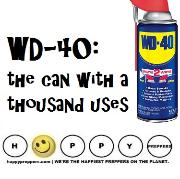 WD-40 the can with a thousand uses