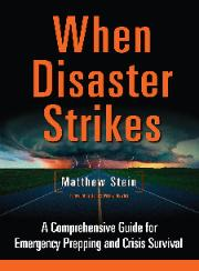 When Disaster Strikes Prepping Book