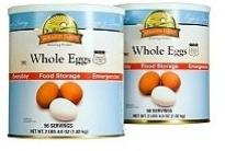 whole eggs emergency food