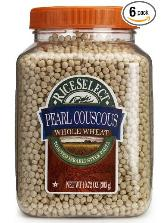 rice food storage  Smaller jars - 6 couscous pearls