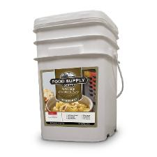 Food supply bucket of emeregency food Wisconsin cheddar