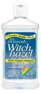 Witch hazel antifungals