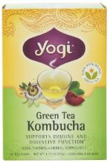 Grean Tea Kombucha supports immune and digestive function