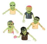 Zombie finger puppets - prepper novelty stocking stuffer